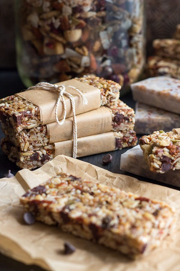 Low Carb Granola Bars