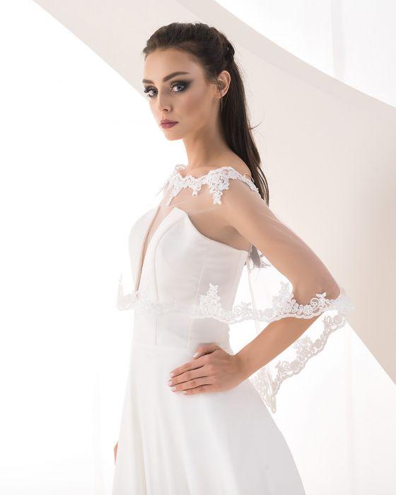 bridal capelet