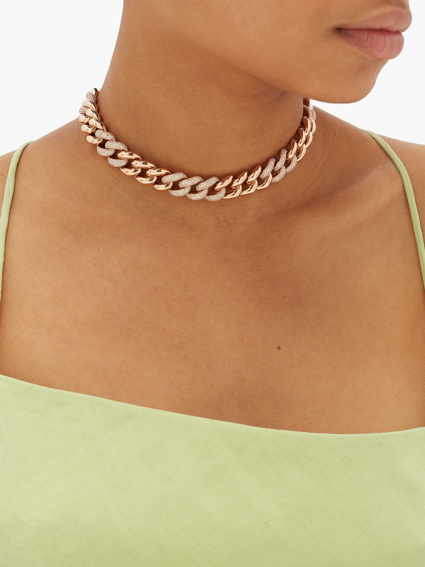 Choker Diamond Necklace