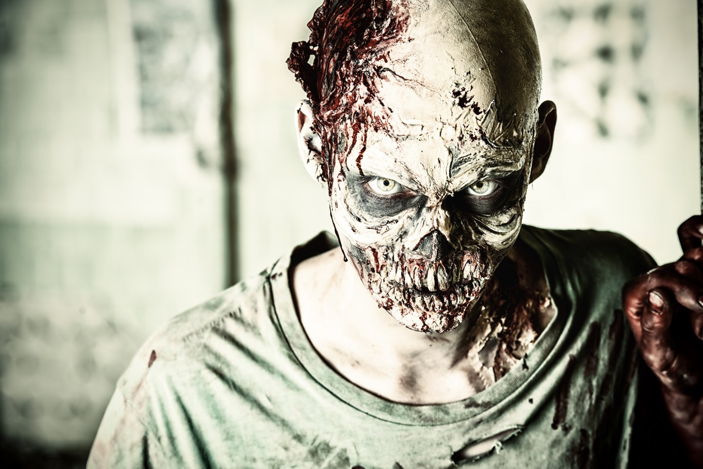 quirky UK weekend ideas - zombie apocalypse experience