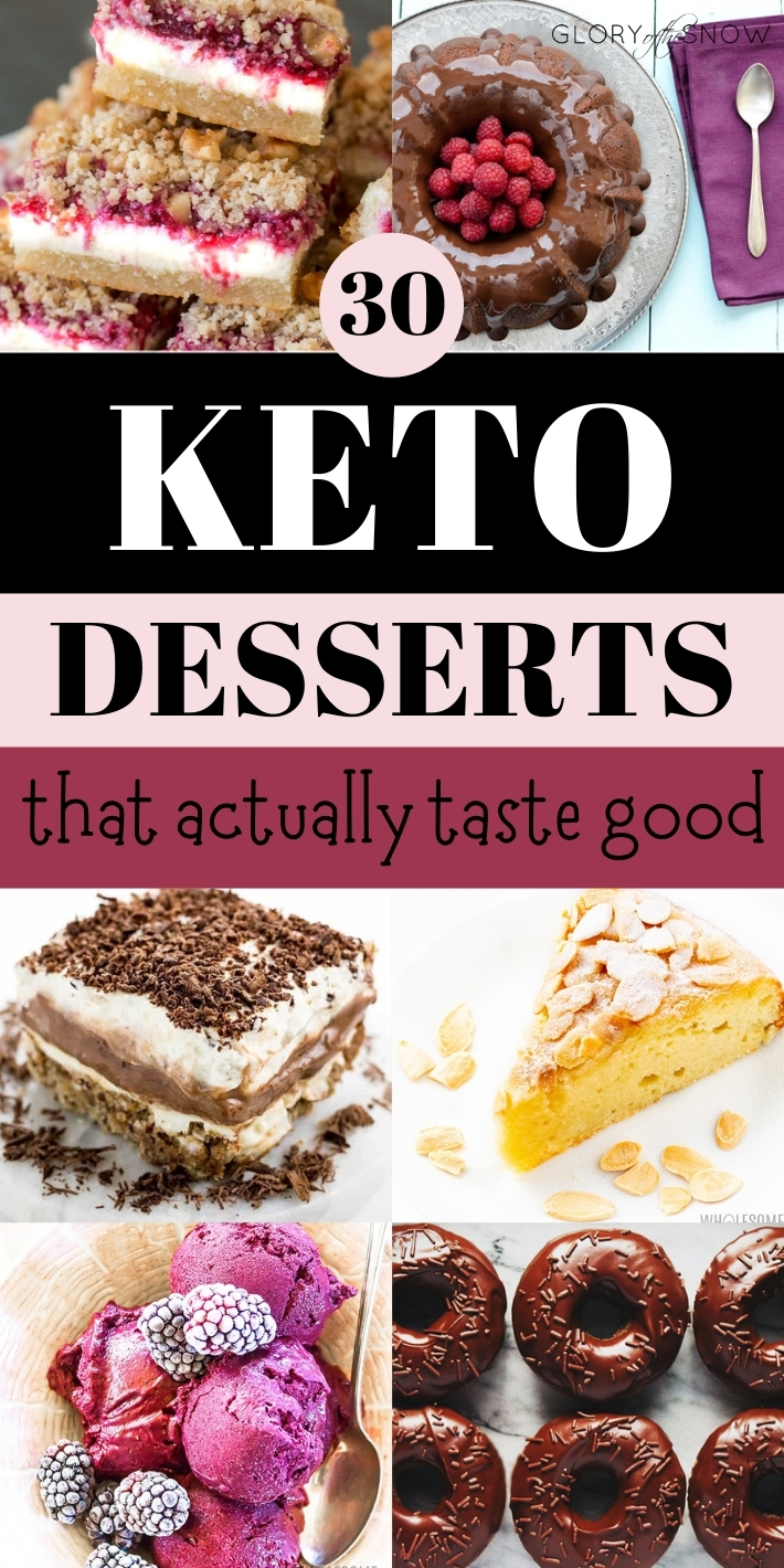 30 Best Keto Desserts That Actually Taste Good