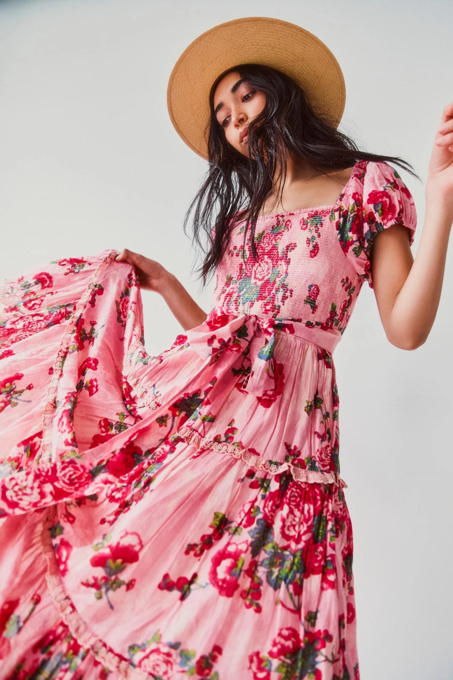 Cottagecore Floral Dress