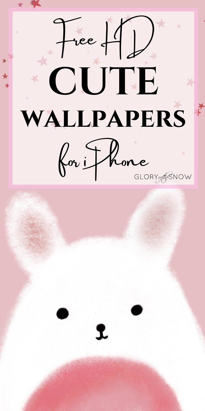 free HD cute wallpaper backgrounds for iPhone