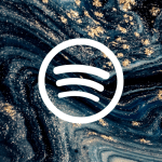 Free Aesthetic iPhone App Icons Blue Marble 34