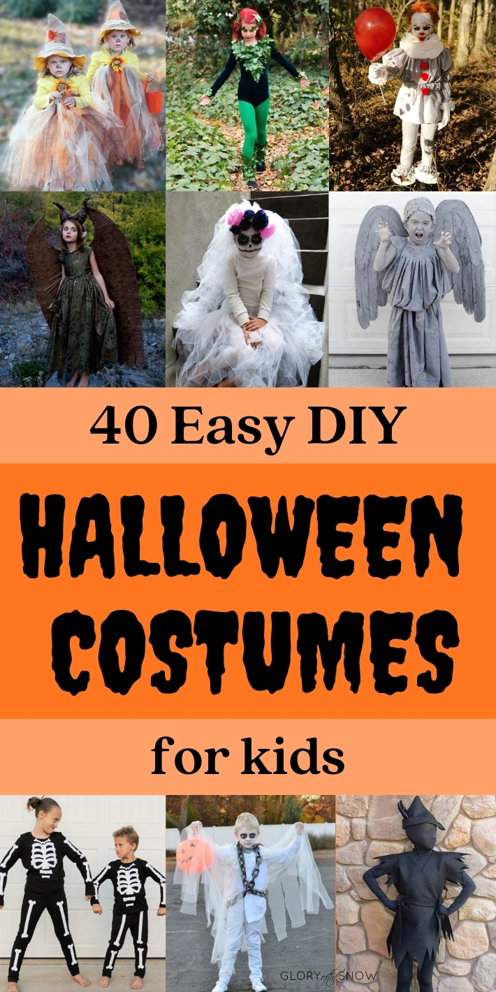 40 Easy DIY Halloween Costumes For Kids That Will Blow Your Mind