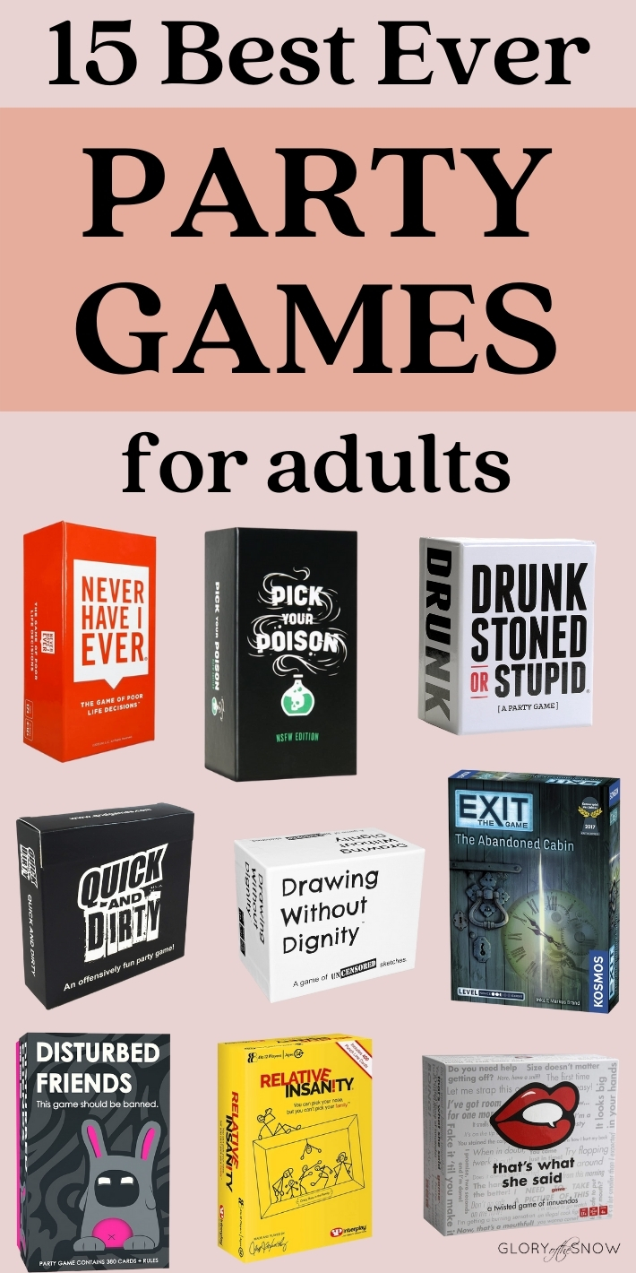 Best Game Night Drinking Games For Adults