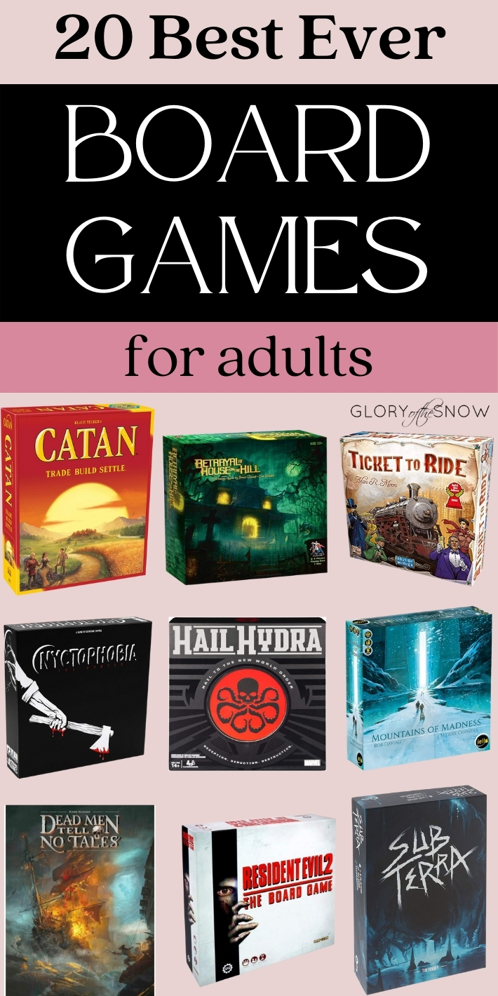 Best Board Games For Adults To Play Righ Now