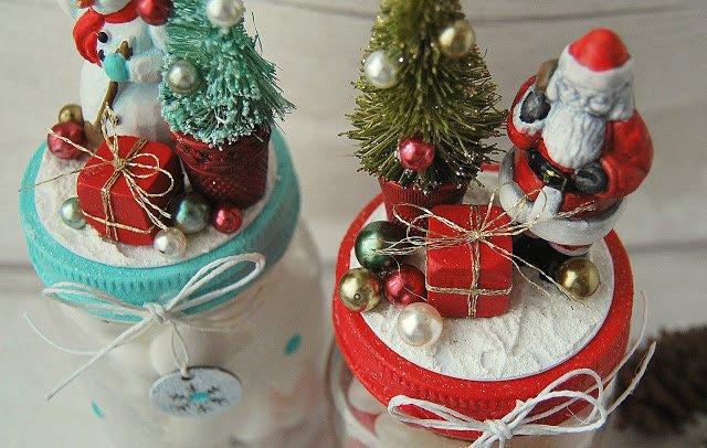 EASY AND AFFORDABLE DIY CHRISTMAS GIFTS: CHRISTMAS TREAT JARS