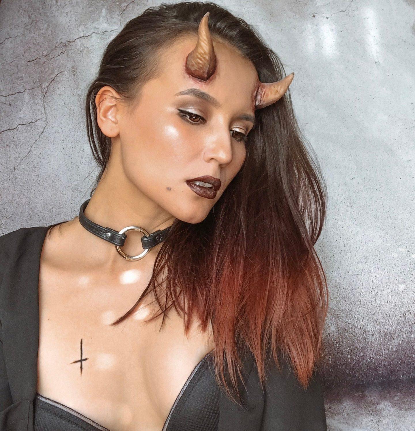 Demon Horns Halloween SFX Latex Prosthetics