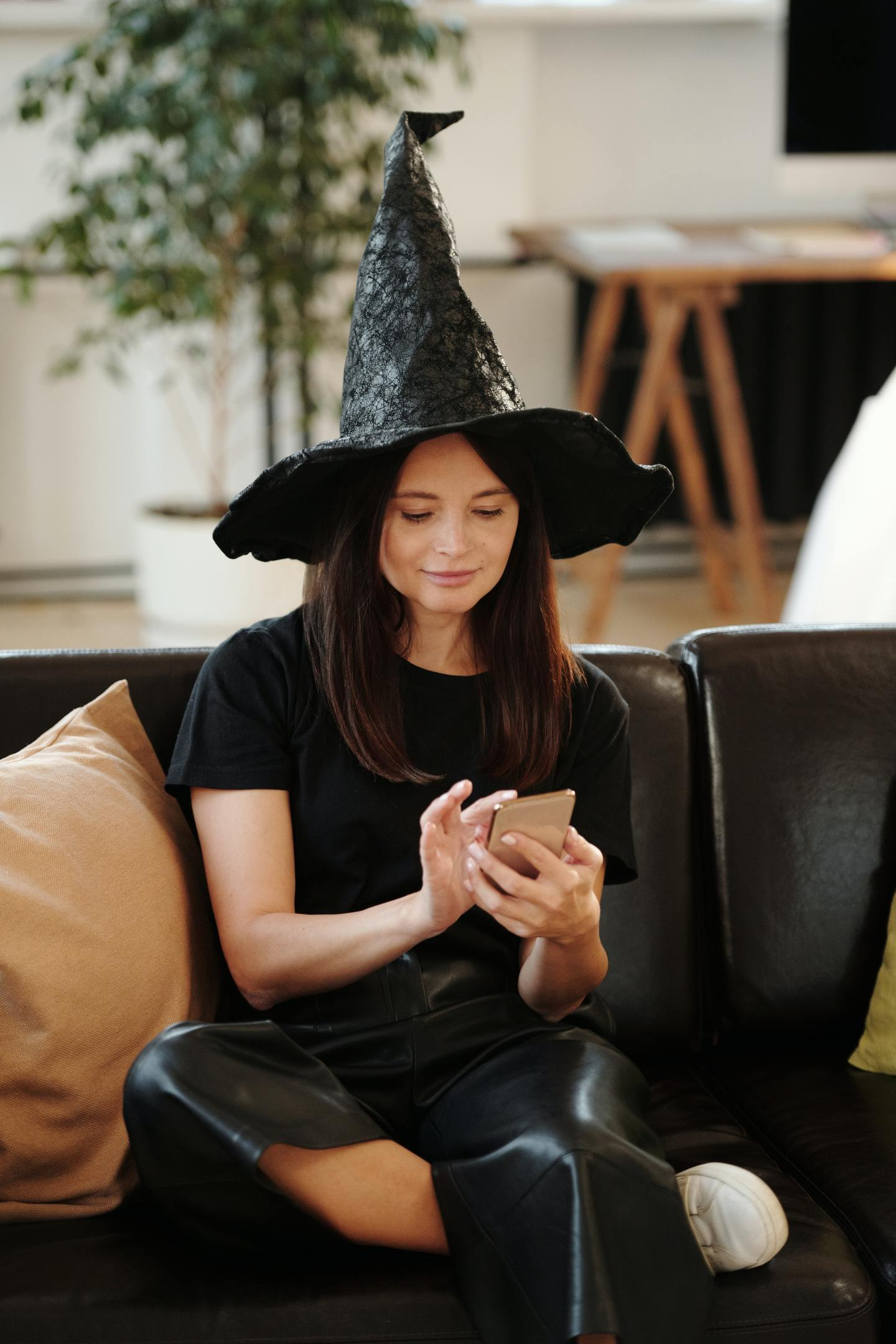 Simple Witch Halloween Costume For Teen Girls
