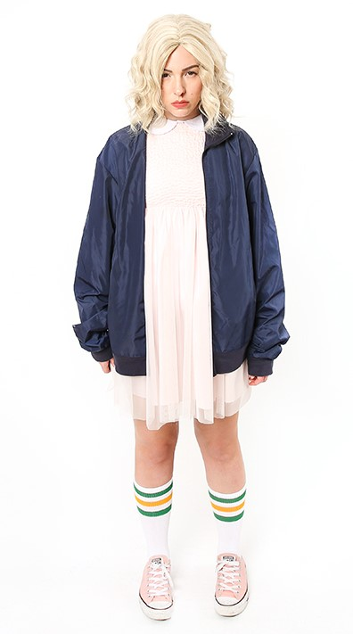 Super Cool Teenage Girl DIY Halloween Costume Ideas: Eleven From Stranger Things