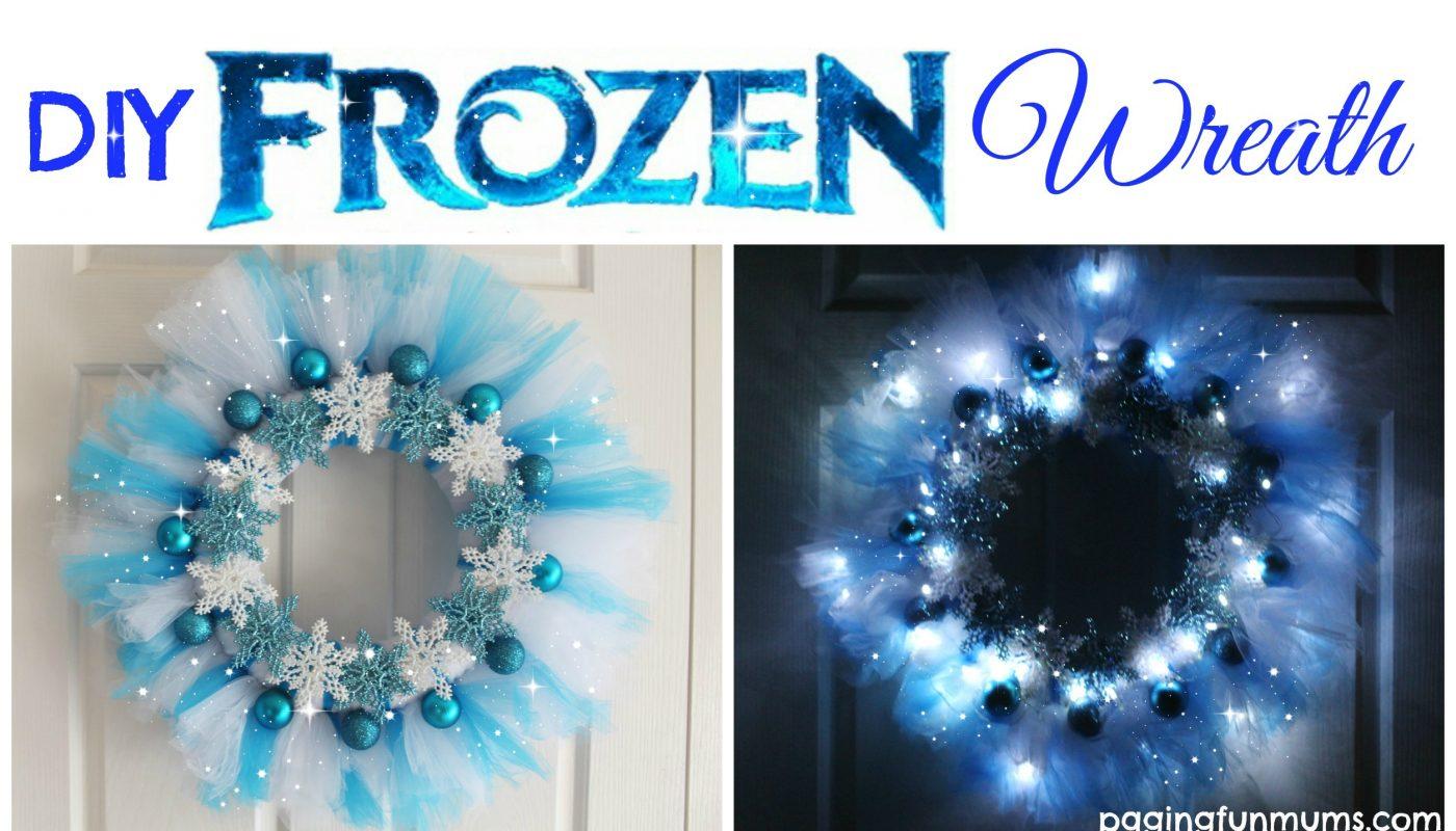 DIY Frozen Wreath