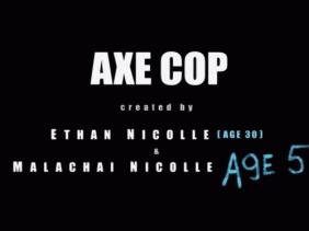 Axe Cop title card (S1)