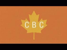 CBC Wordmark on Leaf (ad; 2017)