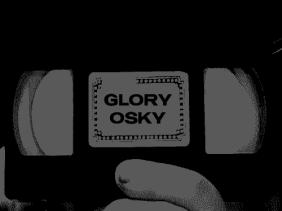 Gloryosky Scratch Dark Logo (2017), 500x375