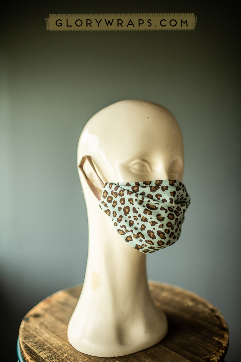 Leopard Print Face masks Face Coverings