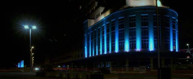 Hastings by night
