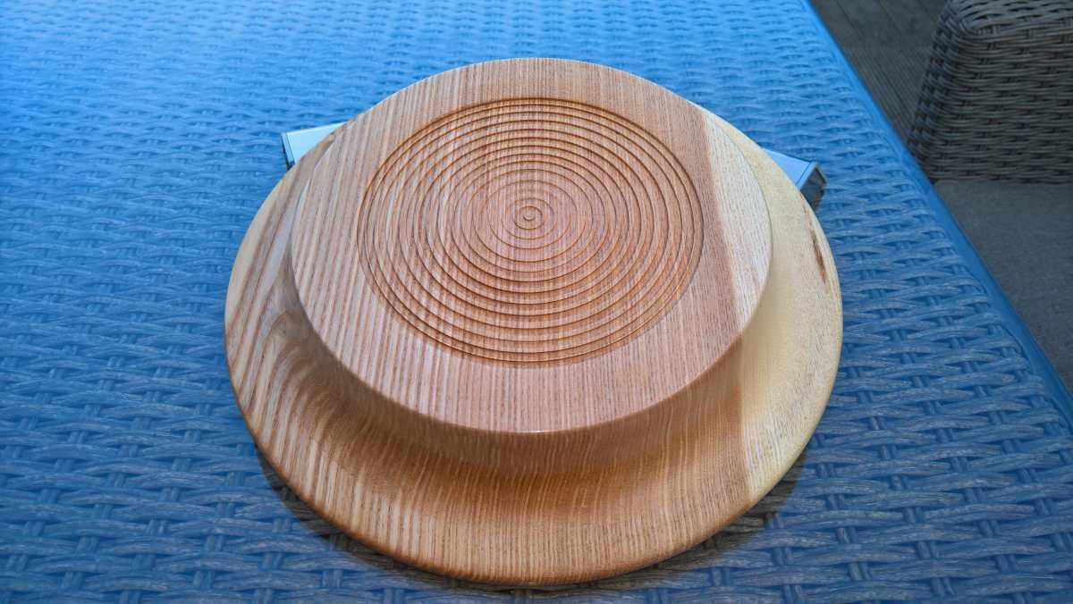 12in Ash Platter Bottom