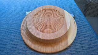 12in Ash Platter Bottom