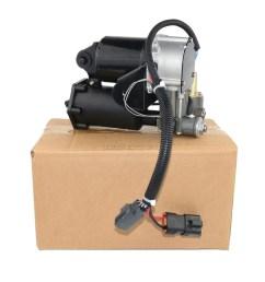 air suspension compressor pump for land rover discovery 3 lr3 range rover sport hitachi type lr023964  [ 1000 x 1000 Pixel ]