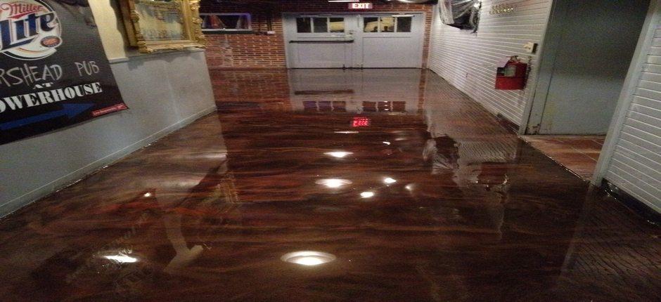 Epoxy On Restaurant Floor Flooring Options Harmon 342