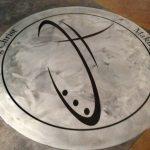 Catalyst Church Logo Embedded In Epoxy staining project Catalyst Church Staining Project tn 121