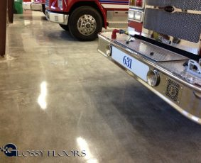 polished concrete Polished Concrete Gallery Centerton Fire Department 18