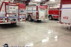 polished concrete Polished Concrete Gallery Centerton Fire Department 19