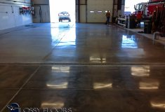 polished concrete Polished Concrete Gallery Centerton Fire Department 3