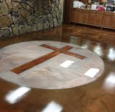 Epoxy Flooring Gallery Epoxy Wooden Cross 2