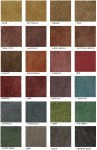Stained Polished Concrete Color Chart  Glossy Floor Images Polished Concrete Color Chart