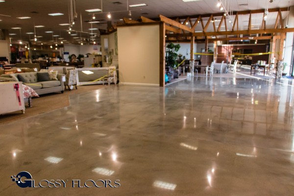 Ashley Furniture - Bossier City - Polished Concrete polished concrete Polished Concrete Project – Ashley Furniture IMG 6601 1024x683