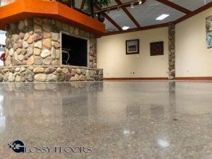 Ashley Furniture - Monroe Louisiana - Polished Concrete Floors