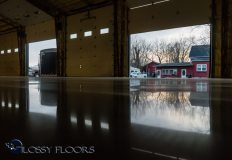 polished concrete Polished Concrete Gallery Polished Concrete Floors Gallatin Fire Department 7