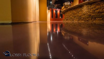 Stained Concrete Gallery Polished Concrete Floors El Matador Restaurant 11