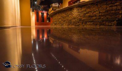 Stained Concrete Gallery Polished Concrete Floors El Matador Restaurant 12