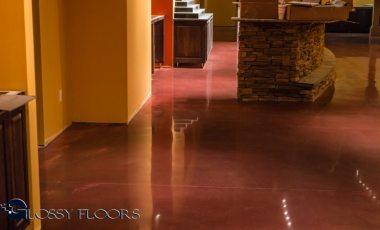 Stained Concrete Gallery Polished Concrete Floors El Matador Restaurant 16