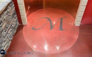 Stained Concrete Gallery Polished Concrete Floors El Matador Restaurant 19