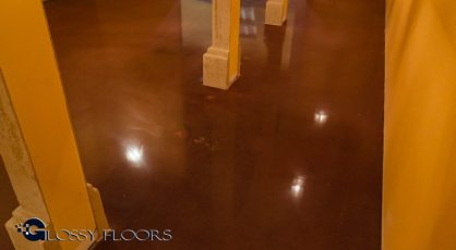 Stained Concrete Gallery Polished Concrete Floors El Matador Restaurant 22