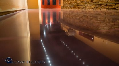 Stained Concrete Gallery Polished Concrete Floors El Matador Restaurant 25