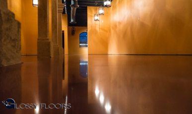 Stained Concrete Gallery Polished Concrete Floors El Matador Restaurant 4