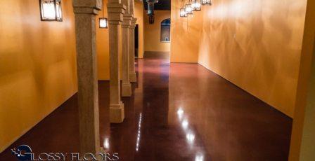 Stained Concrete Gallery Polished Concrete Floors El Matador Restaurant 6