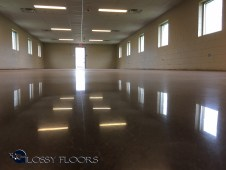 polished concrete design ideas Polished Concrete Design Ideas Polished Concrete Camp Gruber Military Base 7