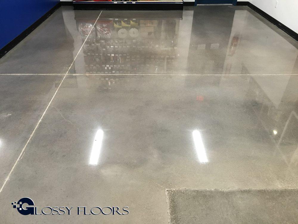 Polished Concrete Floors Boss Shop Tulsa
