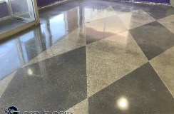 polished concrete Polished Concrete Gallery Polished Concrete Mattress Showroom 90