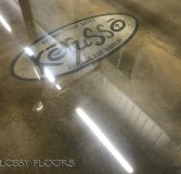 logo on polished concrete Logo on Polished Concrete Polished Concrete Floors 20