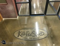 logo on polished concrete Logo on Polished Concrete Polished Concrete Floors 30