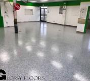 Epoxy Flooring Gallery Epoxy Flake Floor Clarksville 34