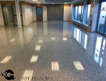 epoxy flakes on a showroom floor Epoxy Flakes On A Showroom Floor Epoxy Flake Floors 100