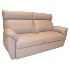 Leather 3 Seat Sofa Bed Top Grain Vs Full Porto Luxury Glossyhome